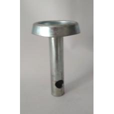 Горелка газовой плиты Дружковка длинная большая (выпуск до 2004)