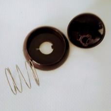 Ручка газовой плиты ГЕФЕСТ коричневая в сборе